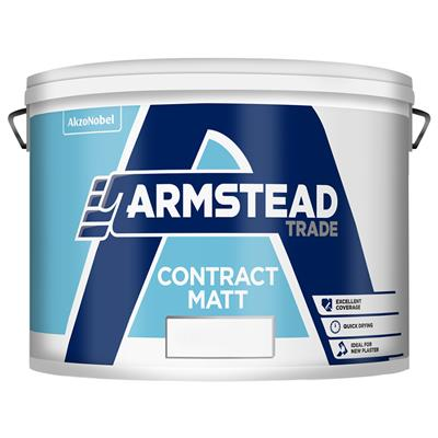 ARMSTEAD TRADE PAINT CONTRACT MATT PASTEL BASE 10L