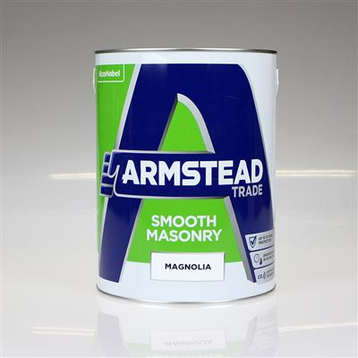 ARMSTEAD TRADE PAINT SMOOTH MASONRY MAGNOLIA 5L