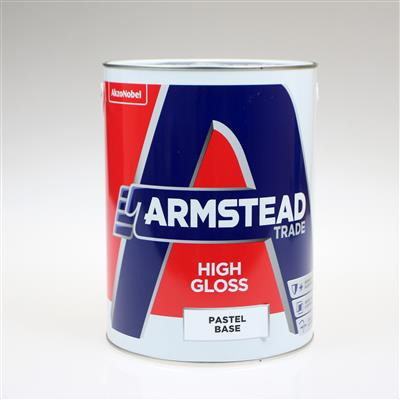 ARMSTEAD TRADE PAINT HIGH GLOSS BRILLIANT WHITE 2.5L