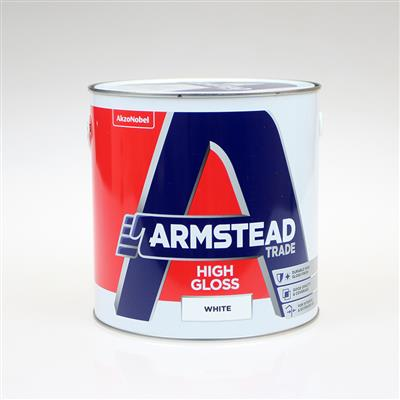 ARMSTEAD TRADE PAINT HIGH GLOSS WHITE 2.5L