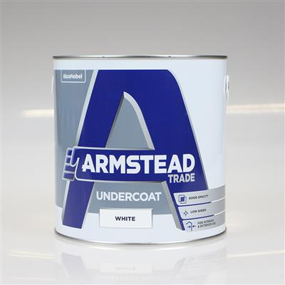 ARMSTEAD TRADE PAINT UNDERCOAT WHITE 2.5L