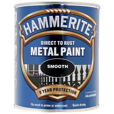 HAMMERITE METAL PAINT SMOOTH BLUE 750ML