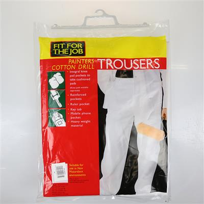 "PAINTERS TROUSERS WAIST 34"" RODO"