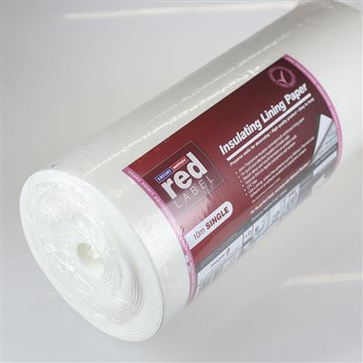 INSULATING LINING PAPER 4MM POLYSTYRENE WITH 1200 LINING PAPER