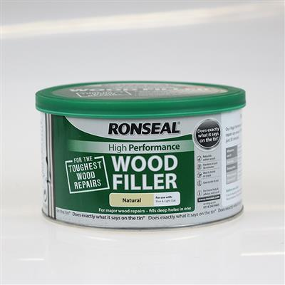 RONSEAL WOOD FILLER 2 PART NATURAL 275G