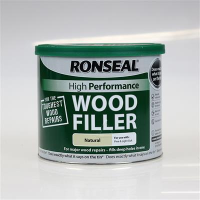 RONSEAL WOOD FILLER 2 PART NATURAL 550G