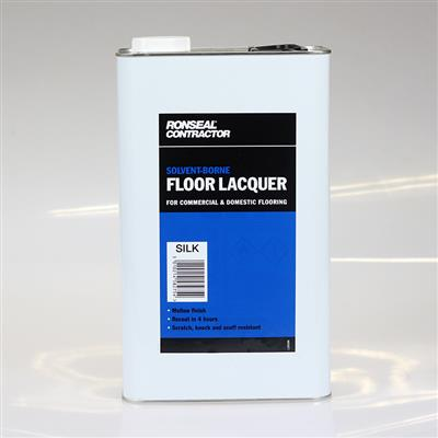 RONSEAL FLOOR LACQUER SOLVENT BASED SILK 5L