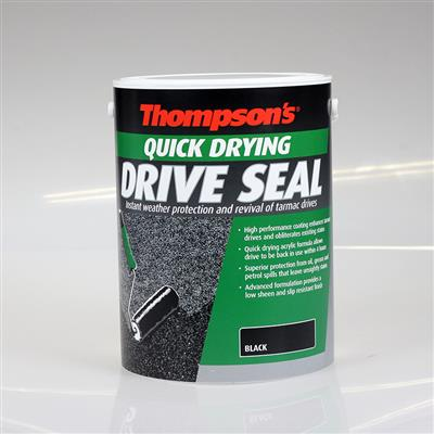 THOMPSONS DRIVE SEAL QUICK DRYING BLACK 5LT