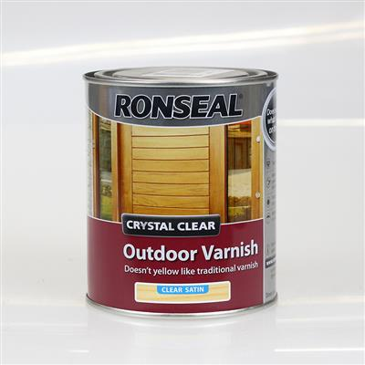 RONSEAL OUTDOOR VARNISH SATIN 750ML