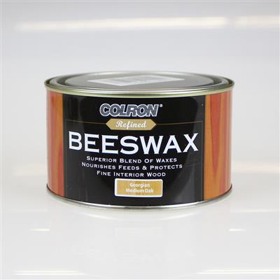 COLRON BEESWAX GEORGIAN MEDIUM OAK 400G