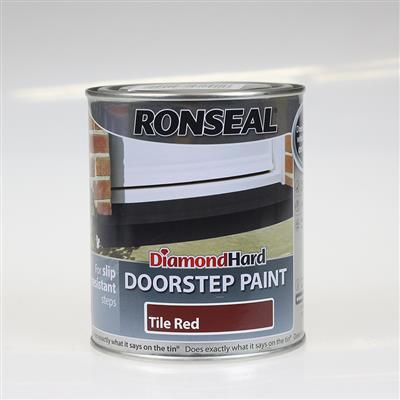 RONSEAL DOOR STEP PAINT TILE RED 750ML