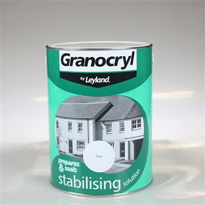 LEYLAND PAINT GRANOCRYL STABILISING SOLUTION CLEAR 5L