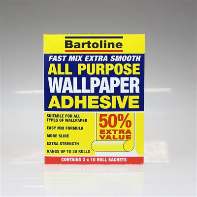 BARTOLINE WALLPAPER ADHESIVE POWDER 30 ROLL