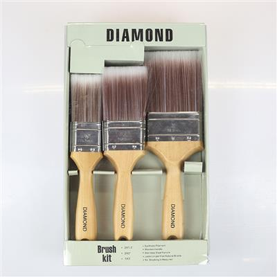 PAINT BRUSH SET DIAMOND 5 PIECE MAXIM
