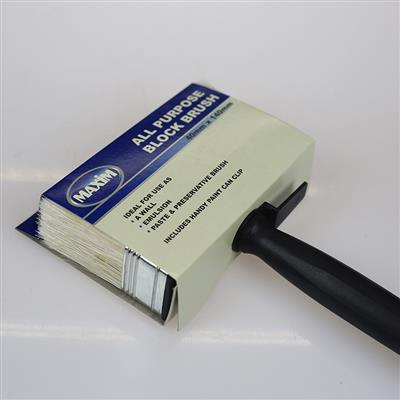 BLOCK BRUSH 40MM X 140MM MAXIM
