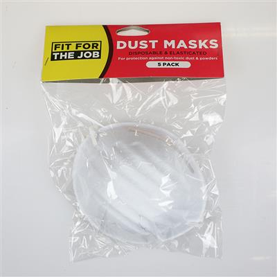 DUST MASKS 5 PACK RODO