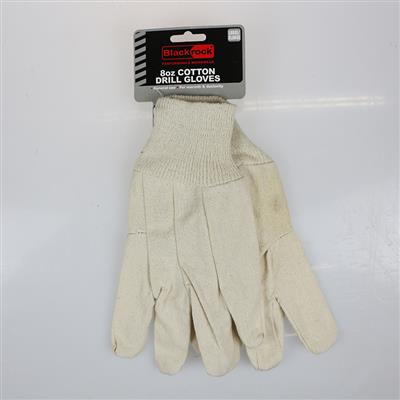 COTTON DRILL GLOVES RODO