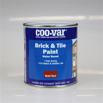 COOVAR PAINT BRICK AND TILE RED 500ML