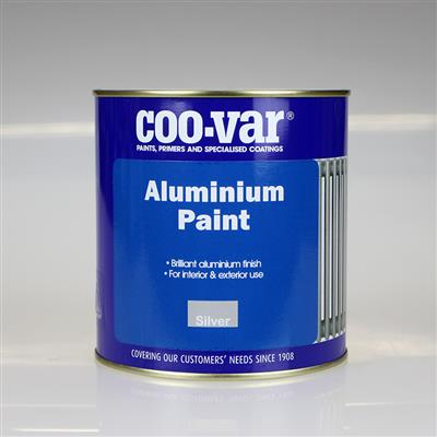 COOVAR PAINT BRILLIANT ALUMINIUM 1L