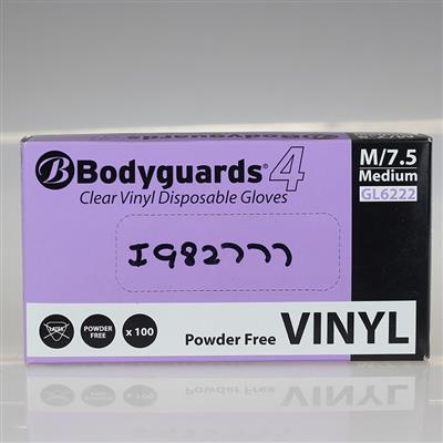 DISPOSABLE GLOVES CLEAR VINYL X LARGE
