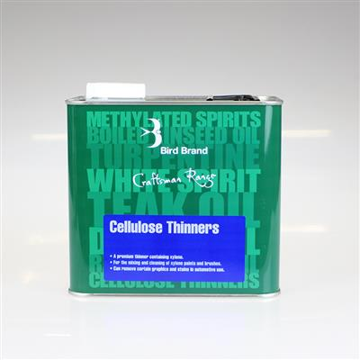 CELLULOSE THINNERS 2.5L BIRD BRAND