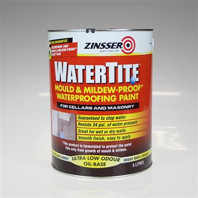 ZINSSER WATERTITE WATER PROOFING PAINT 5L