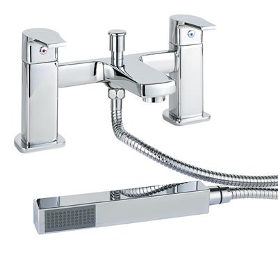 HIGHLIFE DALRY BATH SHOWER MIXER AND SHOWER KIT TAP CHROME 16825 *DISCONTINUED*