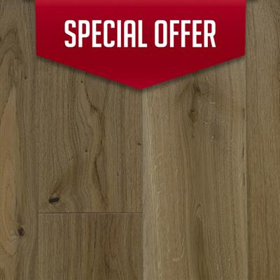 ENGINEERED OAK FLOORING 20MM X 180MM WESSEX SATIN LACQUERED 1.584M2 PER PACK