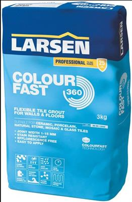 3kg Colour Fast 360 White Grout