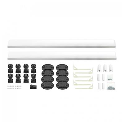 KARTELL EASY PLUMB KIT FOR SQUARE OR RECTANGLE SHOWER TRAYS UP TO 1200MM JTKSR OFRIF1