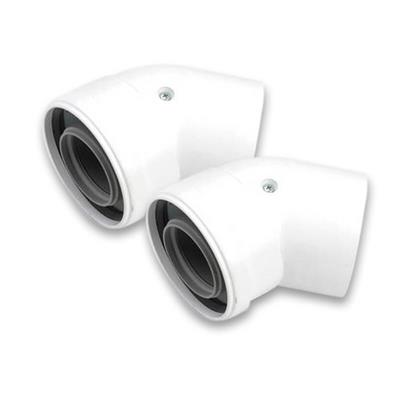 IDEAL BOILER 45 DEGREE ELBOW PAIR 203131