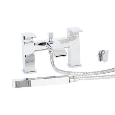 HIGHLIFE LAUDER BATH SHOWER MIXER AND SHOWER KIT CHROME 16725