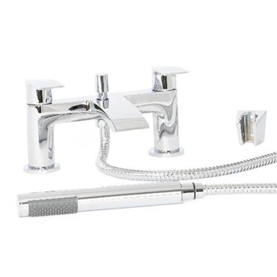 HIGHLIFE COLL BATH SHOWER MIXER AND SHOWER KIT CHROME 17225