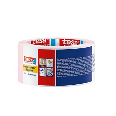 MASKING TAPE PRECISION SENSITIVE INDOOR 50MM X 50M TESA PINK