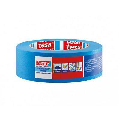 MASKING TAPE PRECISION OUTDOOR 38MM X 50M TESA BLUE