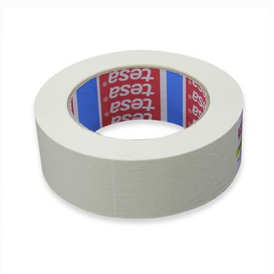 MASKING TAPE GENERAL PURPOSE INDOOR 38MM X 50M TESA WHITE