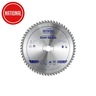 FAITHFULL CIRCULAR SAW BLADE 300MM X 30MM FAIZ30060