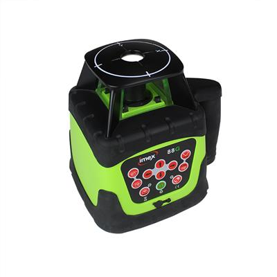 LASER LEVEL KIT ROTATING HV GREEN BEAM 88G KIT 012-IO88GKIT