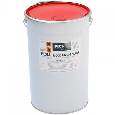 BLOCK PAVING SEALER PICSEAL MATT FINISH  BS1 25L FOR USE ON BLOCK PAVING AND NATURAL STONE