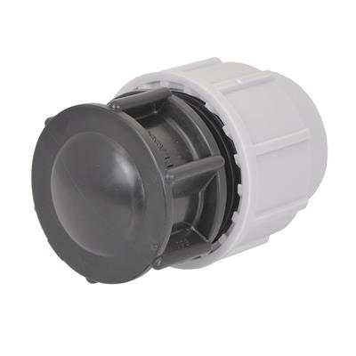 PLASSON WATER FITTING FOR MDPE END PLUG -25 7120D00