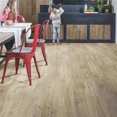 VINYL FLOORING CANYON LIGHT BROWN 2.105M2 PER PACK
