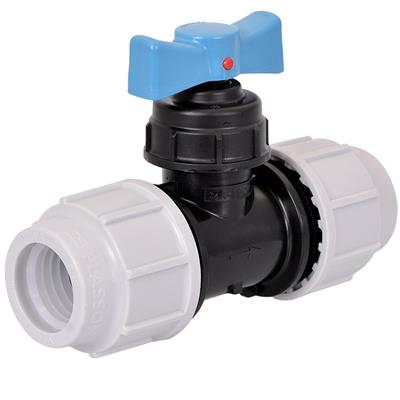 PLASSON WATER FITTING FOR MDPE STOP TAP (PP) 32X32  3407EE0