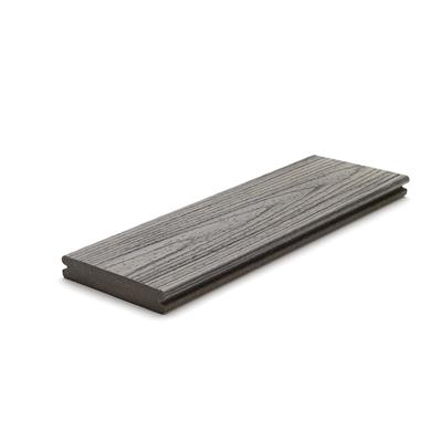 DECKING BOARD GROOVED 25X140MM GRAVEL PATH 4.88M LONG TREX TRANSCEND gTRGBGP488
