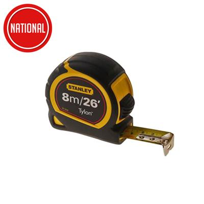 STANLEY TYLON 8M TAPE MEASURE  0-30-656