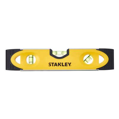 STANLEY TORPEDO LEVEL 230MM SHOCK PROOF MAGNECTIC BASE  0-43-511