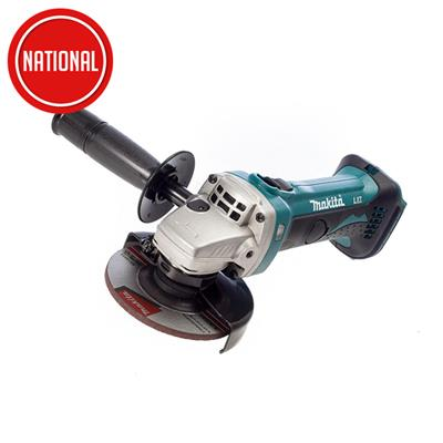 MAKITA CORDLESS 115MM ANGLE GRINDER BODY ONLY DGA452Z
