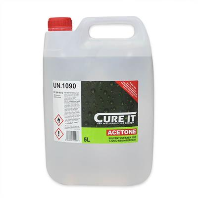 CURE IT ACETONE 5LTR