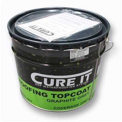 CURE IT TOPCOAT GREY 20KG (APPROX 40M2 COVERAGE)