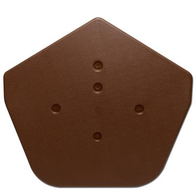 KLOBER RIDGE END PACK UNIVERSAL ANGLE (PAIRS)  BROWN KR977336 SOLD PER PAIR