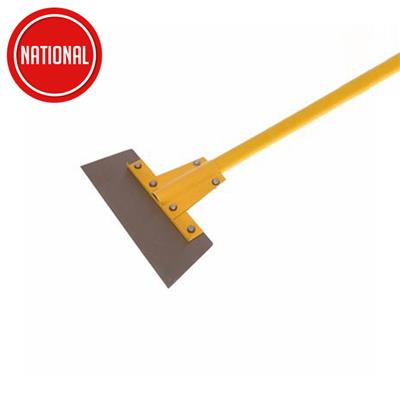 HEAVY-DUTY FIBREGLASS HANDLE FLOOR SCRAPER 300MM (12IN) CLW FOC SPARE BLADE WHILE STOCKS LAST